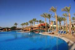 Het zwembad van het hotel Stock Fotografie