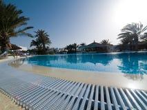 Het Zwembad van het hotel   Royalty-vrije Stock Afbeeldingen