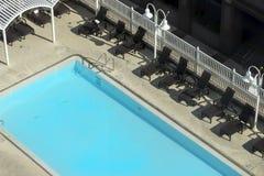Het zwembad van het hotel Royalty-vrije Stock Foto