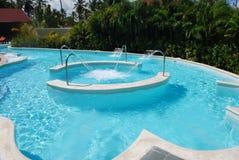 Het zwembad van het kuuroord Stock Afbeeldingen