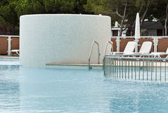 Het zwembad van het kuuroord Stock Foto