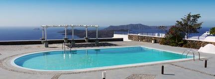Het Zwembad van het luxehotel Stock Fotografie
