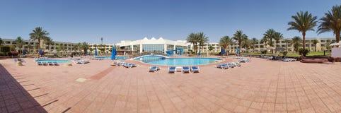 Het zwembad van het hotel stock foto's