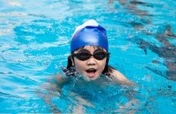 Het zwemmen Royalty-vrije Stock Afbeelding