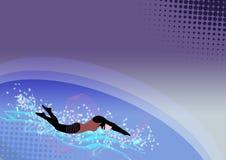 Het zwemmen Royalty-vrije Stock Foto