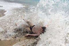 Het zwemmen Stock Foto