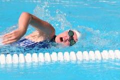 Het zwemmen Stock Foto's
