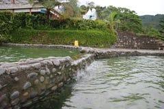 Het zwemmen opiniepeiling Stock Fotografie