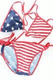 Het zwemmende kostuum van de vrouw Stock Foto