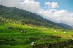 Het Zwitserse landschap van het platteland royalty-vrije stock fotografie