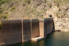 Hetch Hetchy Dam. The dam at Hetch Hetchy reservoir in Yosemite National Park, California Stock Photo