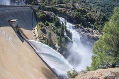 Hetch Hetchy Dam. In Yosemite National Park Stock Photo