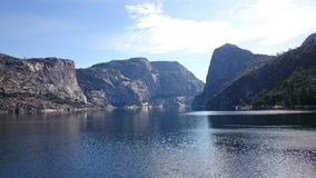 Hetch Hetchy. Reservoir, Yosemite National Park royalty free stock photos