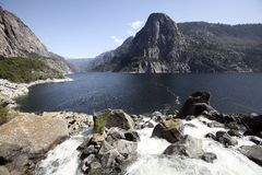 Hetch Hetchy rezerwuar Obrazy Stock