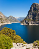 Hetch Hetchy Spring  Landscape. Beautiful view of Hetch Hetchy reservoir in Yosemite National Park, California Stock Photos
