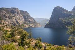 Hetch Hetchy Valley. Hetch Hetchy Reservoir in Yosemite National Park Royalty Free Stock Images