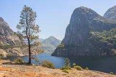 Hetch Hetchy Valley. Hetch Hetchy Reservoir in Yosemite National Park Stock Image