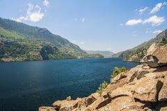 Hetch Hetchy Valley. Hetch Hetchy Reservoir in Yosemite National Park Royalty Free Stock Image