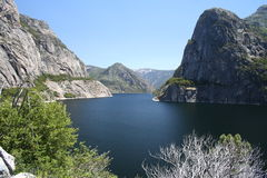 Hetch Hetchy. Yosemite national park Royalty Free Stock Photos