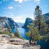 Hetch Hetchy in Yosemite National Park Royalty Free Stock Photos
