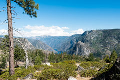 Hetch Hetchy in Yosemite National Park Royalty Free Stock Images