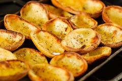 Hete aardappels Stock Afbeeldingen