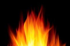 Hete brand stock fotografie