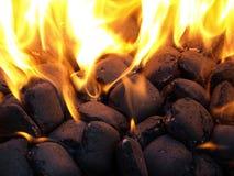 Hete brand stock afbeelding