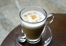 Hete cappuccino's. Stock Fotografie