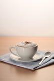 Hete cappuccino's Royalty-vrije Stock Foto's