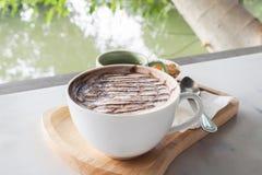 Hete Chocolade Royalty-vrije Stock Foto