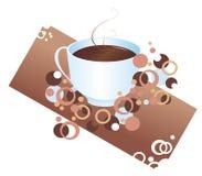Hete chocolade vector illustratie