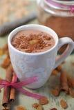 Hete chocolade Stock Fotografie