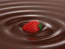 Hete Chocolade Stock Foto's