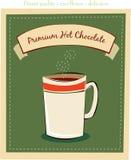 Hete chocolade stock illustratie
