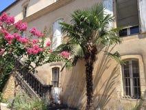 Hete dag in het zuiden van Frankrijk stock fotografie