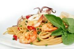 Hete en kruidige spaghetti in Thailand Royalty-vrije Stock Foto