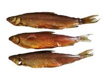 Hete gerookte vissen stock fotografie