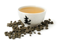 Hete groene thee Royalty-vrije Stock Foto