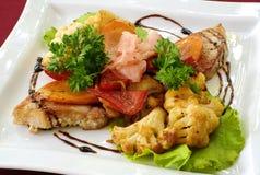 Hete Ierse salade Stock Afbeeldingen