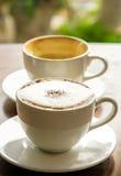 Hete koffie Stock Afbeelding