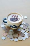 Hete Koffie Stock Foto