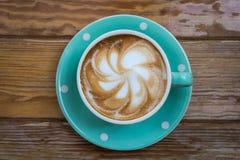 Hete koffie in ochtenddag Stock Afbeelding