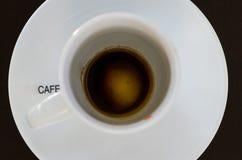 Hete kop de koffie wordt klaar Royalty-vrije Stock Afbeeldingen