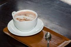Hete kop de koffie wordt klaar Royalty-vrije Stock Afbeelding