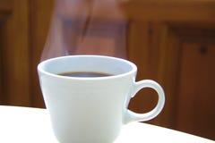Hete kop van koffie Royalty-vrije Stock Foto's