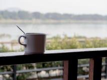 Hete kop van koffie Royalty-vrije Stock Fotografie