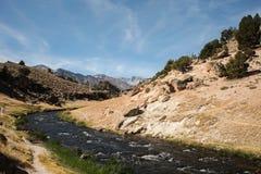 Hete Kreek geologische plaats Royalty-vrije Stock Afbeeldingen
