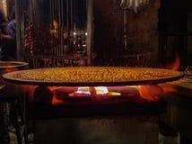 Hete kruidige tomatenjus India royalty-vrije stock fotografie