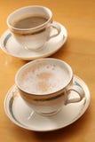 Hete latte Royalty-vrije Stock Afbeelding